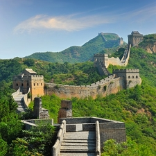 View The Great Wall Of China