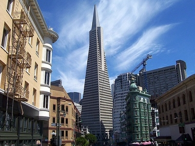 View Transamerica Pyramid In San Francisco CA