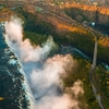 View Victoria Falls From Above - Zambia