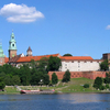 View Wawel Castle From Vistula River