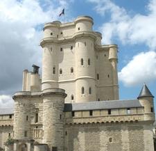 The 14th Century Donjon Of The Château De Vincennes