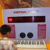 Virtual Piano At RSC Bhopal