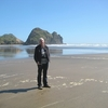 Visitor @ Piha Beach Near Auckland NZ