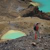 Visitors At Emerald Lakes