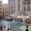 Visitors At Trevi Fountain - Rome