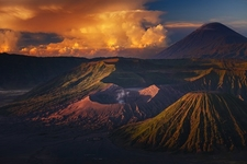 Volcanoes In Bromo Tengger Semeru National Park