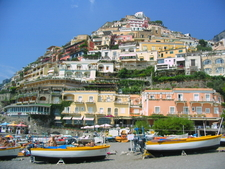 The Beach Of Positano