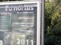Hortus Botanicus Vrije Universiteit Amsterdam