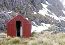 Waimakariri Falls Hut