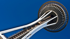 WA Space Needle Seattle In Detail
