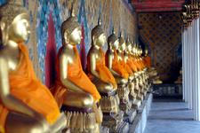 Buddha Images Inside Wat Arun
