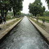 Water Canal In Mughal Garden Verinag