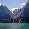 Waterfall @ Milford Sound - Fiordland - Southland NZ