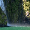 Waterfall @ Milford Sound - Southland NZ