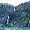 Waterfall Near Glacier Balmaceda