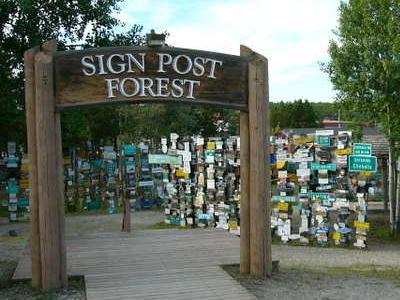 Watson Lake Signpost