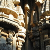 Well Carved Decorated Pillars