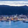Wellington Harbour From Mount Victoria NZ