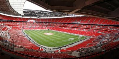 Inside Wembley Stadium