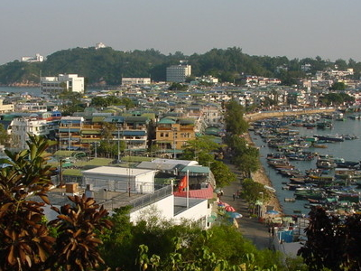 Western Sight Of  Cheung  Chau