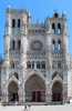 West Front Of Notre Dame D Amiens