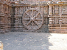 Wheels Konark Temple Orissa