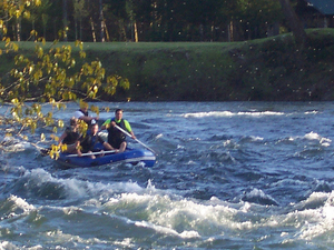 Santiam River Whitewater Rafting