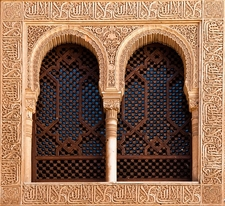 Window At Alhambra - Granada - Andalucia