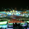 Winter Night In Harbin's Ice And Snow World