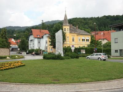 Wolfsberg  Kreisverkehr  Sued