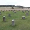 Concrete Pillars Marking Woodhenge\\\'s Postholes