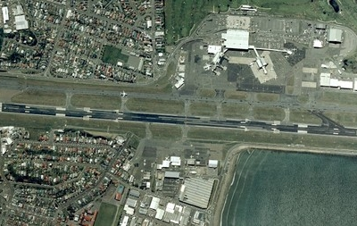 Wellington Airport Aerial