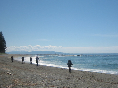 West Coast Trail Beach Hiking