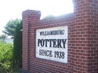 Williamsburg Pottery Factory