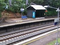 Wombarra railway station