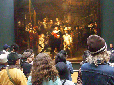 Rembrandts The Night Watch In The Philips Wing