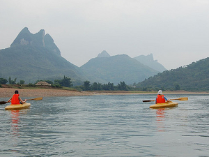 Yangshuo One Day Yangshuo Li River Kayaking Private Tour Photos