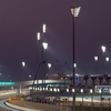 View Of Yas Marina Circuit At Night