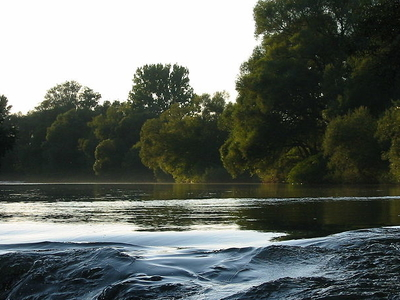 Ybbs River, Close To Amstetten
