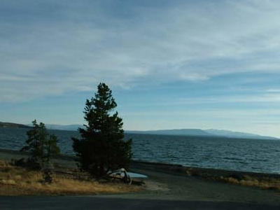 Yellowstone Lake South End