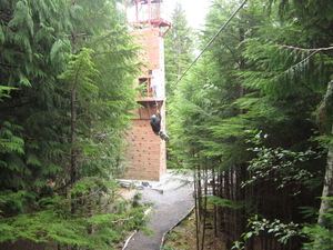 Ketchikan Shore Excursion: Rainforest Canopy Ropes and Zipline Park Photos