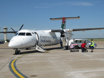 Plane On Apron At Khama Airport