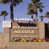 Weaver's Needle Travel Trailer Resort Pmp