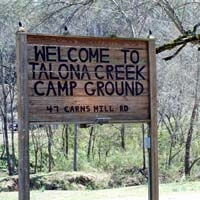 Talona Creek Campground