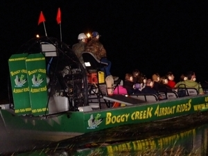 1 Hour Airboat Night Expedition Photos