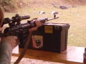 AK-47 Shooting Experience Photos