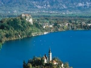 Alpine Lake Bled, Gorge Blejski Vintgar, the medieval Radovljica Photos