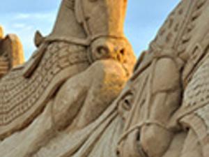Antalya Sand Sculpture Tour Photos