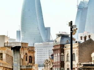 Baku City Walking Tour Photos