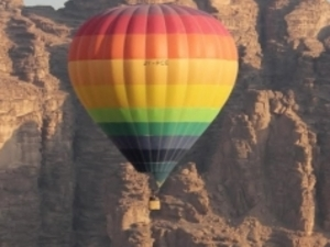 Balloon Ride in Wadi Rum Photos